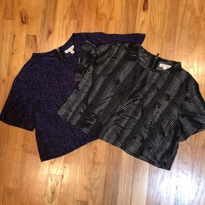 2 cropped tops from UO for price of one